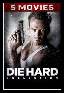 Die Hard Legacy Ultimate Collection 5-Movie Bundle HDX UV Vudu Redeem (Ports to MA iTunes Google Play)