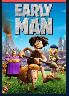 Early Man HDX UV Vudu or FandangoNow Redeem