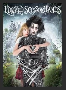 Edward Scissorhands HDX UV Vudu or Google Play or MA Redeem (Ports to iTunes)