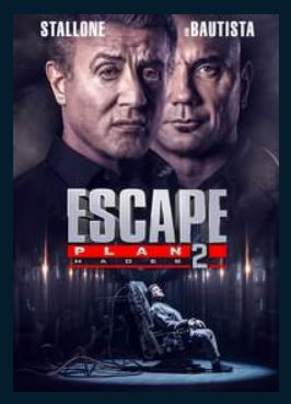 Escape Plan 2: Hades HDX UV Vudu Redeem