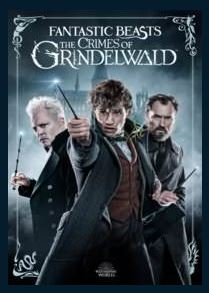 Fantastic Beasts: The Crimes of Grindelwald 4K UHD UV Vudu or MA Redeem (Ports to iTunes Google Play and Amazon)