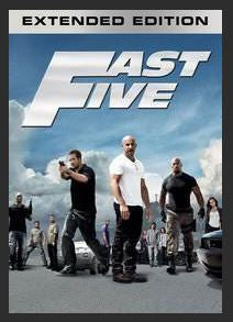Fast Five (Extended Edition) HDX UV and iTunes -1670