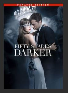 Fifty Shades Darker (Unrated) HDX UV Vudu Redeem (Should port UV and MA)
