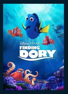Finding Dory HDX DMA MA or Vudu Redeem (Ports to iTunes) Disney
