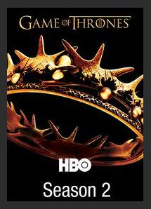 Game of Thrones Season 2 HDX UV Vudu Redeem