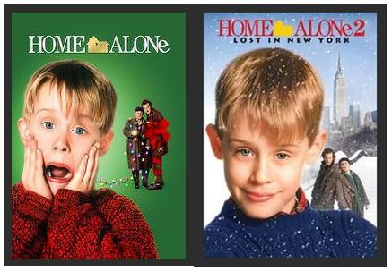 Home Alone 1 and 2 HDX UV Vudu or iTunes or MA Redeem (Ports to Google Play)