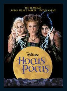Hocus Pocus HD Google Play Redeem (Ports MA) NO Points Disney