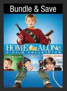 Home Alone 3-Movie Collection HDX UV Vudu (Ports to MA MoviesAnywhere Vudu iTunes and Google Play
