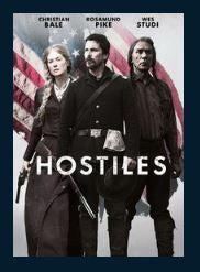 Hostiles HDX UV Vudu or iTunes Redeem