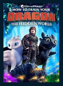 How to Train Your Dragon: The Hidden World HDX Vudu or MA Redeem (Ports to Google Play and iTunes)