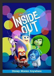 Inside Out SD Google Play Redeem (Ports to MA MoviesAnywhere after Redemption) NO Points