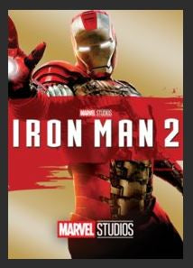 Iron Man 2 HDX DMA Vudu or MA Redeem (Ports to Vudu and iTunes)