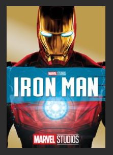Iron Man HDX DMA MA or Vudu Redeem (Ports to iTunes) Disney Marvel