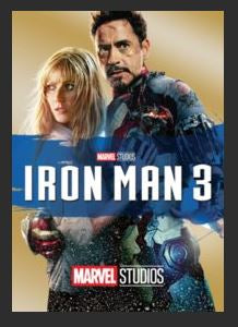 Iron Man 3 HDX Google Play Redeem (Ports to MA MoviesAnywhere) NO Points DMA