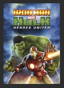 Iron Man & Hulk: Heroes United HDX DMA MA or Vudu Redeem (Ports to iTunes)