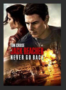 Jack Reacher: Never Go Back HDX UV