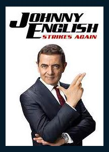 Johnny English Strikes Again HDX Vudu or MA Redeem (Ports to Google Play and iTunes)