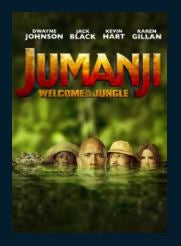 Jumanji: Welcome to the Jungle HDX UV Vudu or MA Redeem* (Ports to iTunes and Google Play)