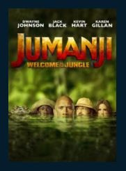 Jumanji: Welcome to the Jungle HDX UV Vudu or MA Redeem (Ports to iTunes and Google Play)