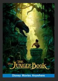 The Jungle Book (2016) HD Google Play Redeem (Ports to MA MoviesAnywhere) NO Points Disney