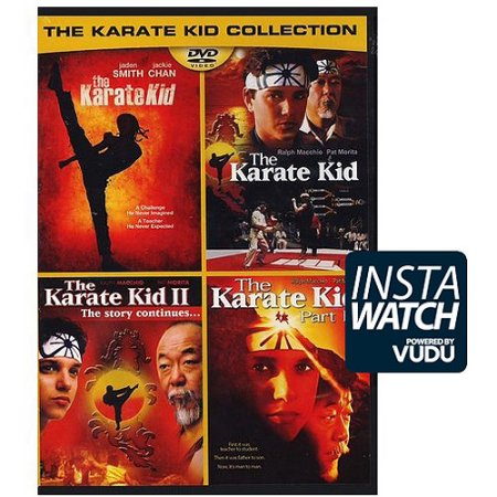 The Karate Kid Collection SD UV *Vudu Redeem* (Ports to MA MoviesAnywhere)