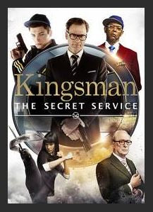 Kingsman: The Secret Service HDX UV *Vudu Redeem* (Ports UV and MA)