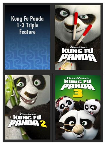 Kung Fu Panda 1-3 Triple Feature SD UV *Vudu Redeem* (Ports to MA MoviesAnywhere)