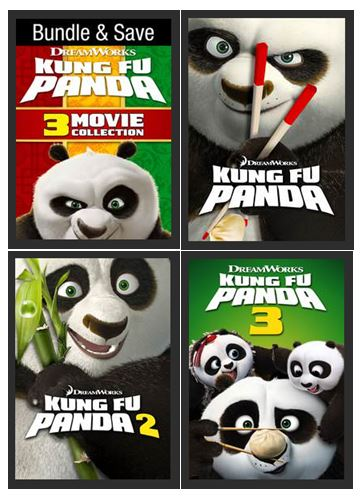 Kung Fu Panda 1-3 Triple Feature Movie Collection (Bundle) HDX UV Vudu Redeem (Ports to MA MoviesAnywhere)