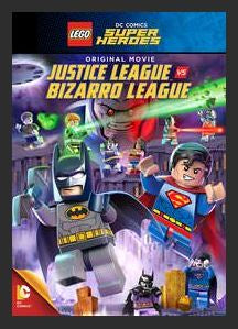 Lego DC Comics Super Heroes: Justice League vs. Bizarro League HDX UV Vudu or MA Redeem (Ports to Google Play and iTunes)