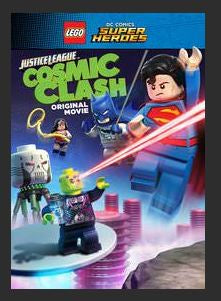 Lego DC Comics Super Heroes: Justice League - Cosmic Clash HDX UV Vudu or MA Redeem (Ports to Google Play and iTunes)