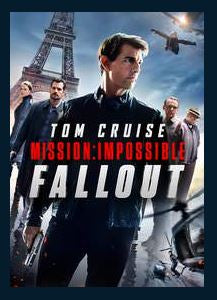 Mission: Impossible - Fallout HDX UV VUDU REDEEM ONLY