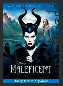 Maleficent HDX DMA MA or Vudu Redeem (Ports to Vudu and iTunes)