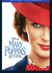 Mary Poppins Returns HD Google Play Redeem (Ports MA) Disney
