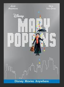 Mary Poppins SD DMA MA (Ports to Vudu and iTunes) (May be HDX like they are supposed too)