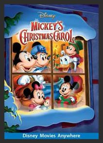 Mickey's Christmas Carol HDX DMA MA or Vudu Redeem (Ports to Vudu and iTunes)