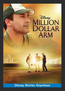 Million Dollar Arm HDX DMA MA or Vudu Redeem (Ports to Vudu and iTunes)