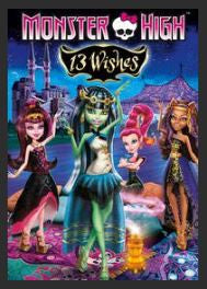 Monster High: 13 Wishes HD iTunes Redeem (Ports to MA MoviesAnywhere)