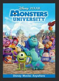 Monsters University HDX DMA MA or Vudu Redeem (Ports to iTunes)