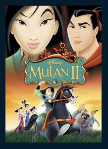 Mulan 2 HD iTunes Redeem (Ports MA) No Points DMA