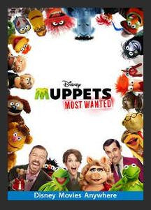 Muppets Most Wanted HDX DMA MA or Vudu Redeem (Ports to iTunes)