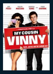 My Cousin Vinny HDX UV Vudu or MA Redeem (Ports to iTunes and Google Play)