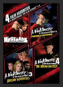 4 Film Favorites: Nightmare On Elm Street 1-4 SD UV or MA Redeem (Ports to Vudu and iTunes and Google Play)