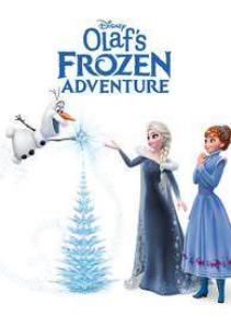 OLAF'S FROZEN ADVENTURE HDX DMA MA or Vudu Redeem (Ports to Vudu and iTunes)