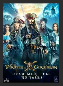 Pirates of the Caribbean: Dead Men Tell No Tales HDX DMA MA or Vudu UV Redeem (Ports iTunes)