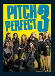 Pitch Perfect 3 4K UHD UV Vudu or MA Redeem (Ports to iTunes and Google Play)