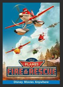 Planes: Fire & Rescue HDX DMA MA or Vudu Redeem (Ports to Vudu and iTunes)