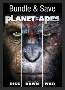 Planet Of The Apes Trilogy HDX UV *Vudu Redeem* (Ports to MA MoviesAnywhere, iTunes and Google Play)