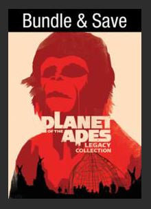 Planet of the Apes: Legacy Collection (Bundle) SD UV Vudu 5 Film Collection Vudu Redeem (Ports to MA MoviesAnywhere)