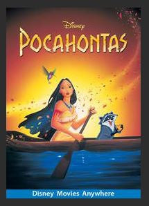 Pocahontas HDX DMA MA or Vudu Redeem (Ports to Vudu and iTunes)