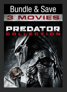 Predator Triple Feature HDX UV Vudu or MA Redeem (Ports to MA iTunes Google Play Vudu and Amazon)